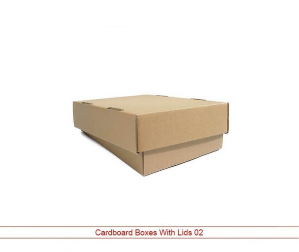 Cardboard Boxes With Lids 1