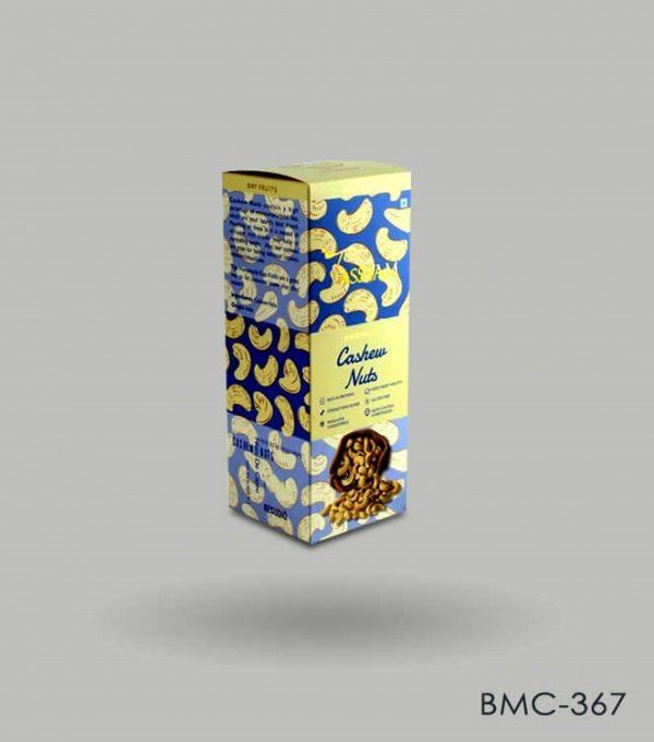 Custom Nuts Box Packaging