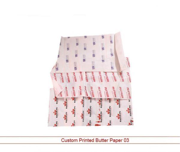 Custom Printed Butter Paper 03