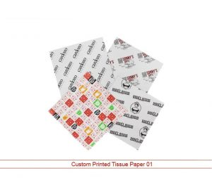 Custom Printed Tissue Paper 01