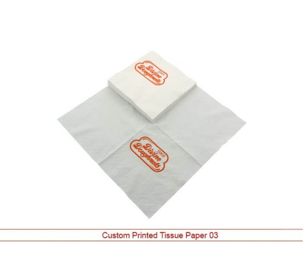 Custom Printed Tissue Paper 03