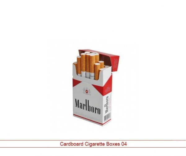 Custom cardboard cigarette boxes
