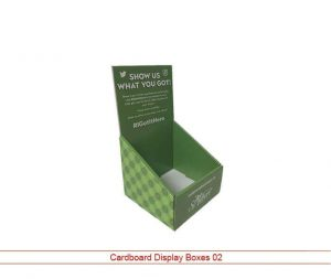 Cystom Cardboard Display Packaging 02