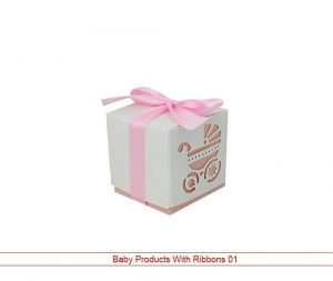 Products With Beautiful Ribbons Boxes