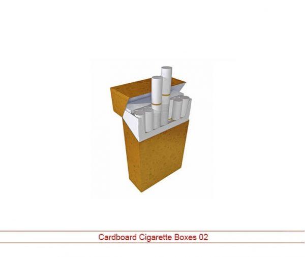 cardboard cigarette boxes NY