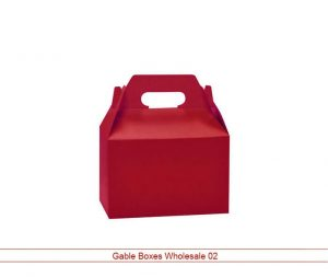 clear gable boxes wholesale
