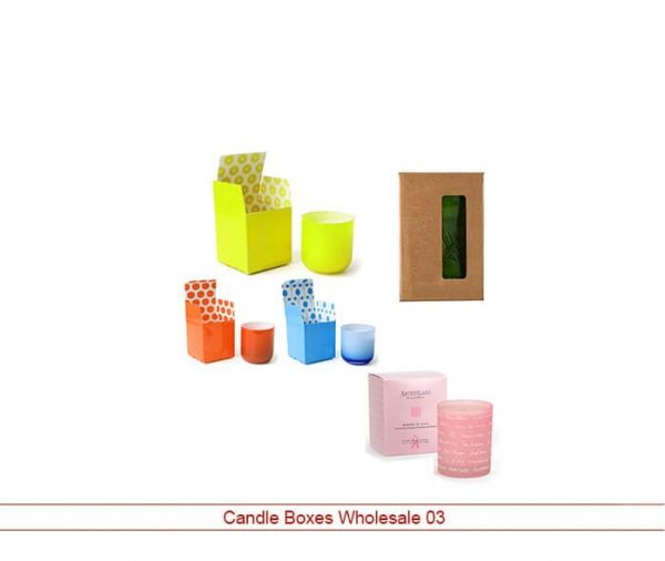 Candle Boxes Wholesale 1