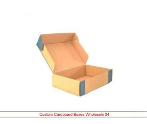 custom cardboard boxes wholesale