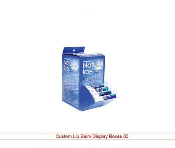 lip balm display box template