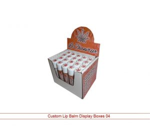 lip balm display boxes wholesale