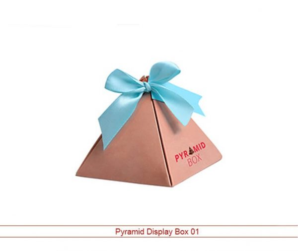 pyramid display box