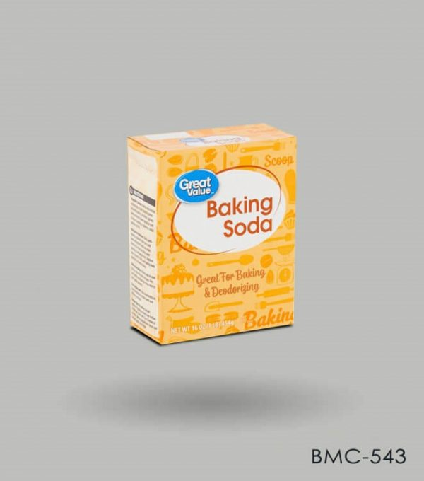Baking Soda Box Packaging
