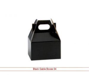 Black Gable Boxes Wholesale