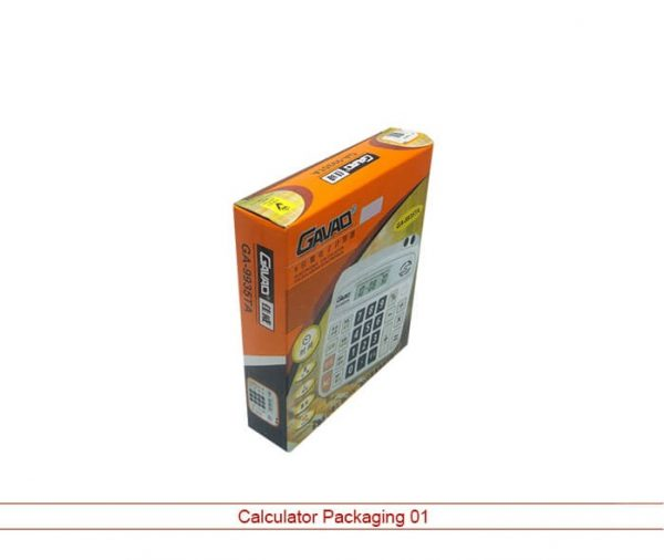 Calculator Packaging Cardboard Box