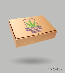 Cannabis Promotional Box Packaging
