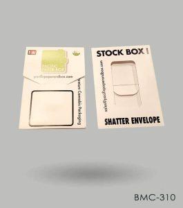 Cannabis Shatter Envelopes Wholesale