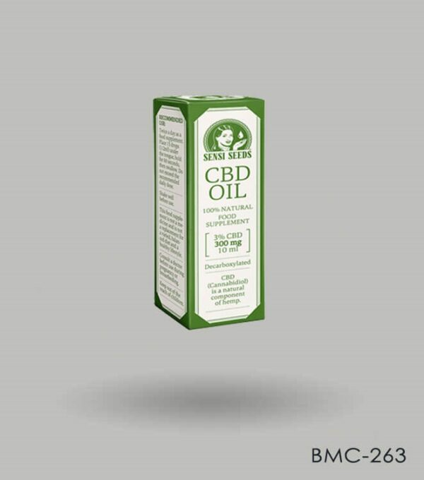 Ccustom Printed CBD Oil Box Packaging