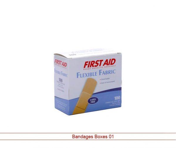 Custom Bandages Boxes
