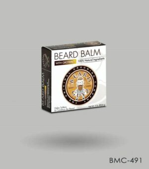 Custom Beard balm boxes