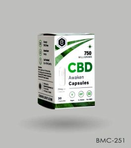 Custom CBD Capsules Boxes Wholesale