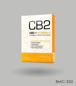 Custom CBD Capsules Packaging