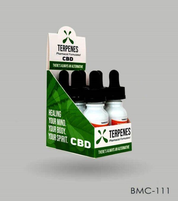 Custom CBD Dropper Bottle Boxes
