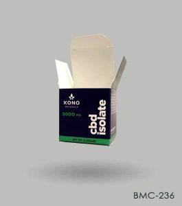 Custom CBD Isolate Box Packaging