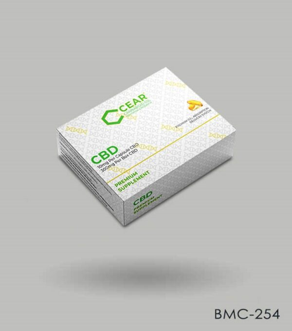 Custom CBD Pills Packaging
