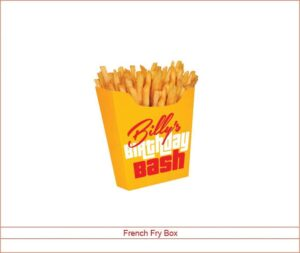 Custom Fries Boxes