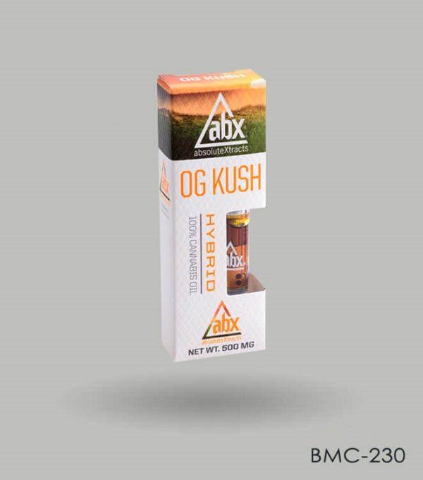Custom Og Kush CBD Packaging Boxes Wholesale