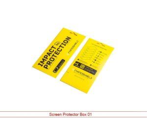 Custom Screen Protector boxes