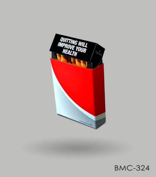Custom Sleeve Cigarette Box Packaging