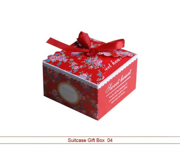 Custom Suitcase Gift Boxes