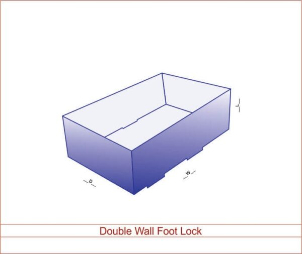 Double Wall Foot Lock 02