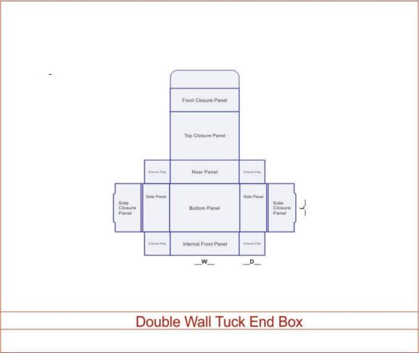 Double Wall Tuck End Box 01
