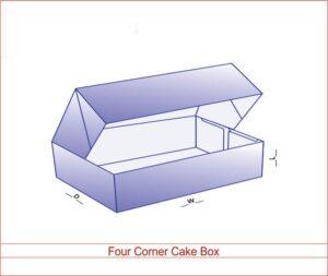 Four Corner Cake Box 02 3