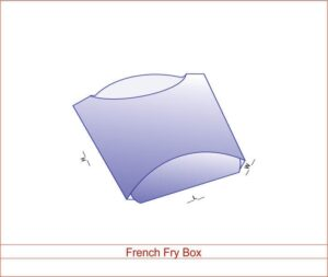 French Fry Box 02