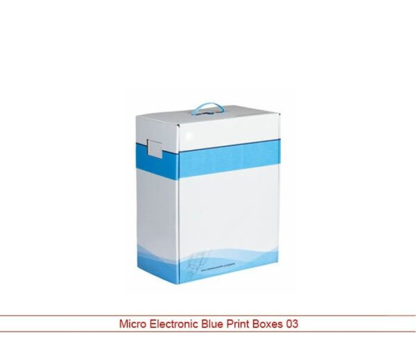 Micro Electronic Blue Print Boxes
