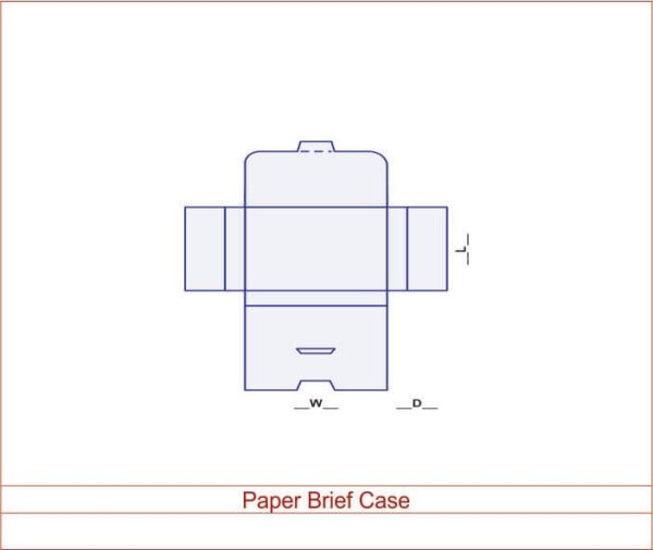 Paper Brief Case 03