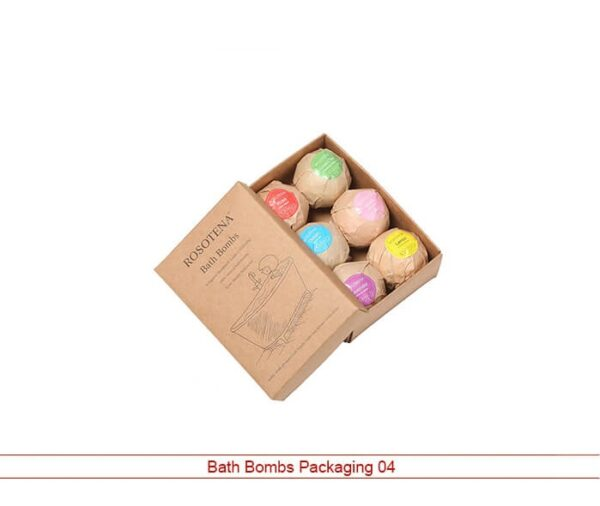bath bombs packaging