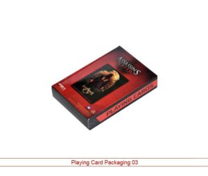 playing card packaging USA