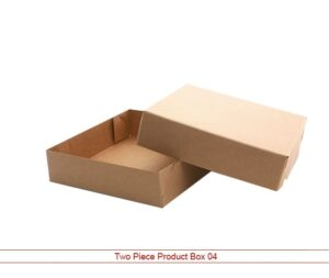 two piece product box Packaging